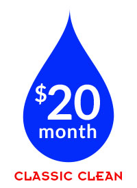 $20/month – Classic Clean